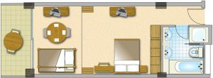 Junior Suites in Ayia Napa Hotels